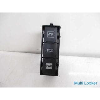 H23 プリウスα ZVW41 モード切替スイッチ 75F235 EV ECO