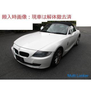 H20 BMW Z4 E85 BU25 フロントバンパー 300 上グリル付
