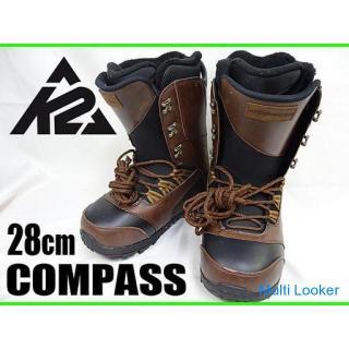 ☆K2☆スノーボード ブーツ COMPASS ステップイン/KWICKER対応 28cm