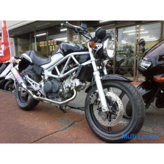 ホンダ VTR250FI 水冷4サイクルVツイン250cc FI車 モリワキチタンマフラー ブラック