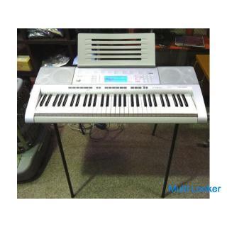 ◆CASIO/カシオ◆電子ピアノ CTK-4000 キーボード 61鍵盤 スタンド付き 楽器 動作確認済み 中古