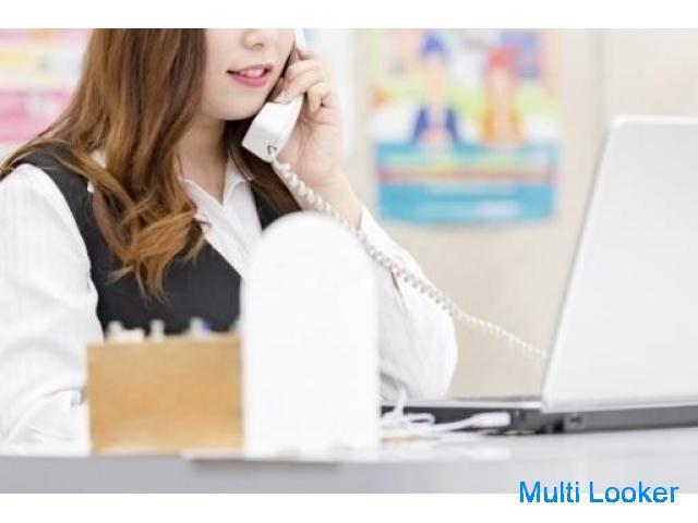 【未経験可】携帯会社での接客、電話対応の仕事☺☆