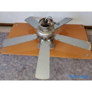 シーリングファン 5枚羽根 サーキュレーター 天井照明