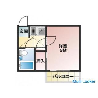 家具家電付き物件。新京成電鉄線 元山駅。敷金礼金0です。