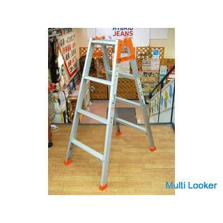 日本アルミ はしご兼用脚立 LSA-12 脚立の高さ113cm はしごの長さ239cm 100㎏まで