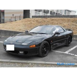 H3 三菱 3000 GT (GTO) 車検3年2月 社外マフラー BLITZ車高調 社外アルミ エアクリ 社外HIDライト