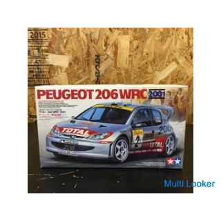 TAMIYA プジョー206 WRC 2001