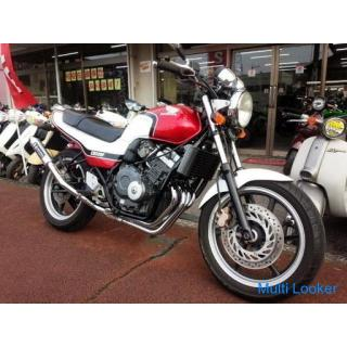 ホンダ ジェイド(JADE) 水冷4サイクル16バルブ4気筒250cc 番長マフラー CBXカラー