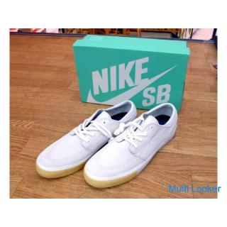 未使用品 29.0cm NIKE スニーカー メンズ SB ZOOM JANOSKI RM SE スケートボードシューズ 靴 ホワイト系 ステファン ジャノスキー ナイキ 元箱付き