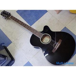 Sepia Crue エレアコ エレキ アコースティックギター EAW-200/BKS 楽器 中古
