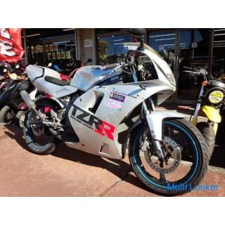 ヤマハ TZR50R 水冷2サイクル7.2馬力エンジン 6速ギヤ セル付き シルバー