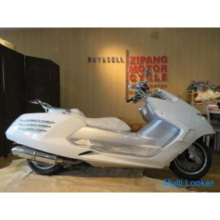 YAMAHA MAXAM BA-SG17J ヤマハ マグザム 250cc ビッグスクーター ホワイト 5802km 実動! 保険H32.5 バイク 札幌発