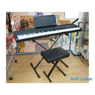 2018年製 KORG/コルグ 電子ピアノ B1 88鍵盤 ブラック スタンド・椅子付き 動作確認済み ☆