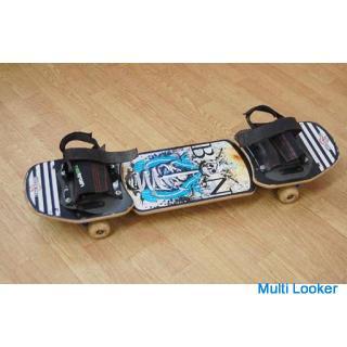 Dimension スケートボード 全長90cm ブラック系 髑髏 ドクロ ストリートボード ディメンション
