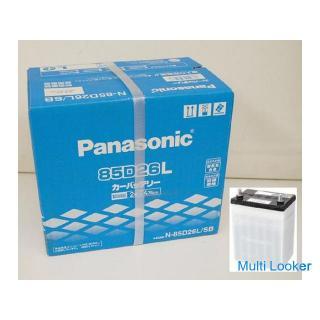 新品未使用 Panasonic カーバッテリー 85D26L/SB パナソニック