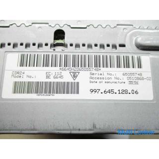 ポルシェ ケイマン 987 純正 CD デッキ