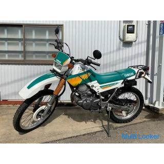 YAMAHA SEROW 225 白/緑