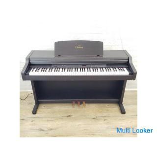 YAMAHA クラビノーバ Clavinova CLP-411 電子ピアノ デジタルピアノ ペダル3本 ローズウッド 動作確認済 ヤマハ 北NS5