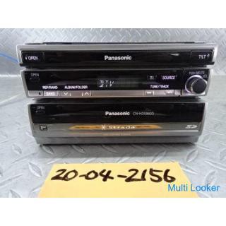 Panasonic パナソニック HDDナビ CN-HDS960TD 1DIN+1DIN インダッシュ DVD CD 2006年地図