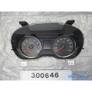 スバル インプレッサ GP7 スピードメーター
