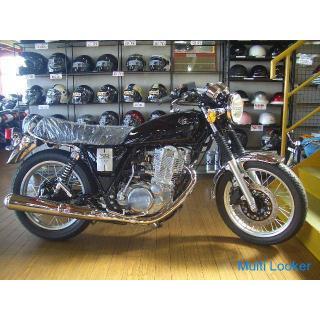 ヤマハSR400(黒)