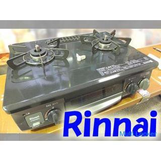 2019年製 ◆RINNAI/リンナイ◆都市ガス ガステーブル VH34NBKL 右強火力 USED