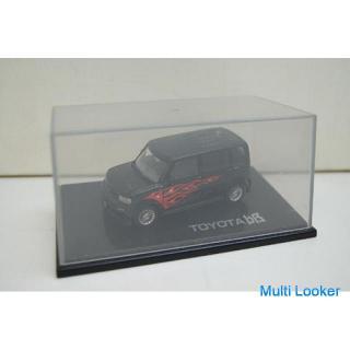 MTECH TOYOTA bB 模型 ケース付き ブラック×レッド 炎 フィギュア トヨタ エムテック