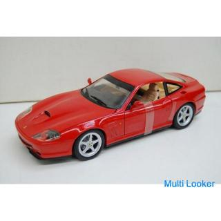 保管品 HotWeels フェラーリ 550 マラネロ 模型 レッド 1/18スケール フィギュア ホットウィール Ferrari Maranello