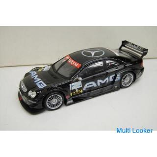 Maisto メルセデスベンツ CLK-DTM フィギュア 1/18スケール ブラック 模型 MERCEDES BENZ マイスト 玩具