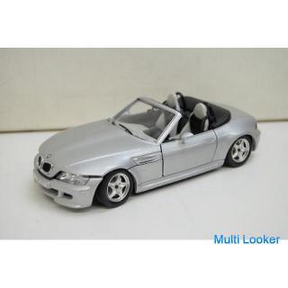 burago BMW M ロードスター 模型 シルバー 1996 フィギュア イタリア製 ブラーゴ オープンカー ROADSTER