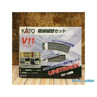 KATO 複線線路セット V11