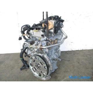 H29 マーチ K13 HR12DE エンジン テストOK 3.877km