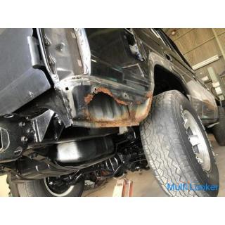 ランクルなどの車の #腐食補修 #鉄板溶接 #塗装修理 (旧車・クラシックカー・外車・他)☆板金・塗装・修理・腐り補修・鉄板溶接