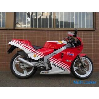 希少 初代 HONDA NSR250R MC16 ホンダ 250cc 2スト 7860km レッド ホワイト 実動! 旧車 バイク 札幌発