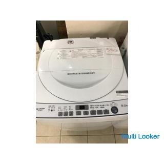 SHARP ES-G60TC 2017年製 6kg 洗濯機
