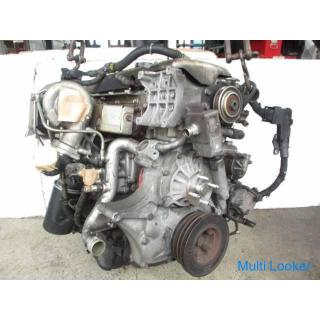 20年 キャンター PDG-FE70B エンジン ターボ 4M42