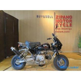 HONDA MONKEY Z50J ホンダ モンキー 50cc 7400km ブラック 実動! アルミロンスイ バイク 札幌発