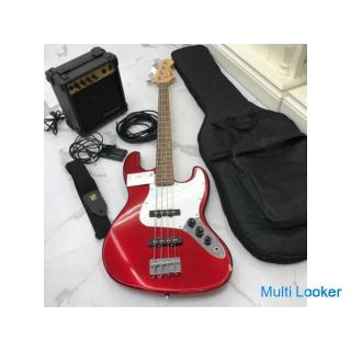 mavis エレクトリックギター、フォトジェニックアンプ、カバー、肩ひも、線、チューナーセット‼️