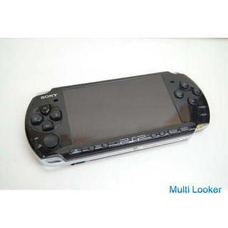 ジャンク SONY プレイステーションポータブル PSP-3000 ブラック 元箱・説明書・充電器付き ソニー