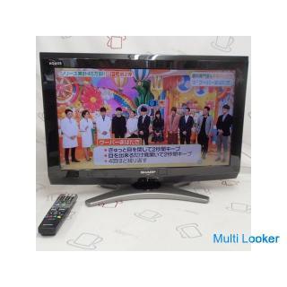 ☆SHARP 液晶TV アクオス LC-26E8 2011年 札幌
