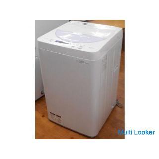 ♪SHARP/シャープ 洗濯機 ES-GE5A 5.5kg 2016年製 洗濯槽外し清掃済 札幌☆