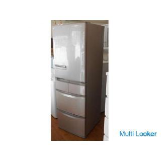 ♪HITACHI/日立 冷蔵庫 R-S42CM 415L 2013年 右開き 札幌■