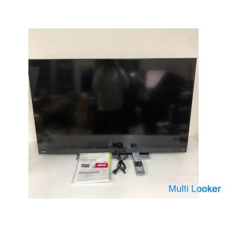 【TOSHIBA】 東芝 REGZA 50型 液晶テレビ 4K クリアダイレクトスピーカー 重低音バズーカウーファー 50BM620X 2018年製