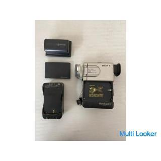 【SONY】 ソニー デジタル ビデオ カメラ バッテリー2点 充電器 4点セット DCR-P10 NP-F300 NP-100 AC-V100