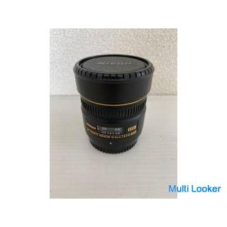 【Nikon】 ニコン NIKKOR 交換 レンズ 一眼レフ FISHEYE 10.5mm 1:2.8 G