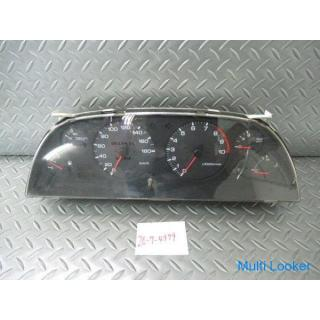 日産 純正 BNR32 スカイライン GT-R GTR 前期 MT車 RB26DETT スピードメーター 速度警告ベル付 走行距離232783km 05U00 即納