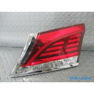 トヨタ 純正 GRS210 クラウン ロイヤル テールライト ランプ レンズ 右 運転席側 内側 トランク側 STANLEY W0719 点灯OK 割れ無し 即納