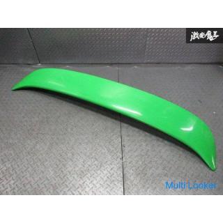 日産 純正 S14 シルビア 前期 リアスポイラー トランクスポイラー ウィング 塗装品 緑 グリーン 96030-65F00 即納 棚E-2