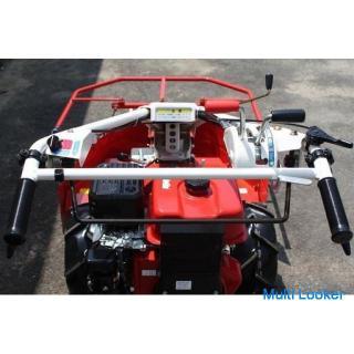 オーレック 自走草刈機 多目的ティーラー BX80 BIRDE 10馬力 + 牧草モア― B90RL 美品【農機具でっく】【福岡】【その他農機具】