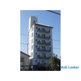 平塚駅から徒歩12分、仲介手数料不要、初期費用格安。7階建ての2階、59㎡(3K)のマンションです。敷礼ゼロ。